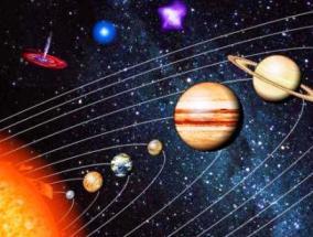Вид Земли со спутника в